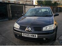 2005 Renault Megane 1.6 Privilege VVT Manual Half Leather & Auto Headlights with 12 MONTHS MOT