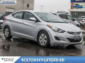 2013 Hyundai Elantra Accident Free|Power Windows/Locks|USB|CPO