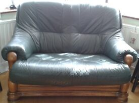 Leather Sofa Set (3,2 and 1 seater)