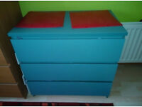 Ikea chest of 3 drawers for sale