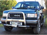Isuzu bighorn diesel
