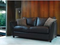 Large Brown Sofa Collins and Hayes GENOA range