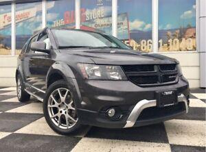 2014 Dodge Journey CROSSROAD FWD V6 | Leather | Navigation | DVD
