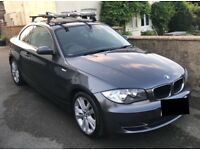 2008 BMW 1 series coupe (120d), 12 months MOT, low mileage