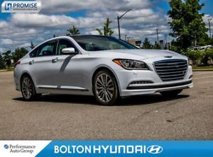 2015 Hyundai Genesis 5.0 Ultimate. Panoroof. Leather. NAVI. AWD