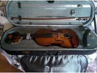 """Stentor Student 14"""" Viola set up"""