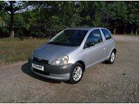 1999 Toyota Yaris 1.0 - 89k, MOT Sep 17