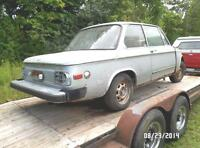 1975 BMW 2002 Parts For Sale