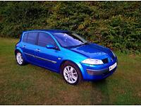 Renault Megane 1.4 16v 2003 12 months mot