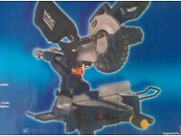 Mac Callister slide compound mitre saw, double cutting laser line. Good condition in box. DIY trade