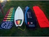 Quattro surfboard