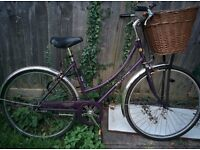 Road Bicycle (inc. high quality bike lock and front basket) for sale in Cambridge