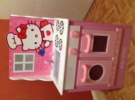 Wooden Kitchen Hello Kitty