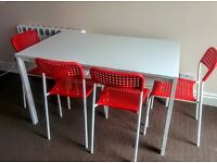 IKEA Dinning table and 4 chairs - £50 all – Perfect conditions