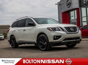 2017 Nissan Pathfinder Platinum Mid Night Ed|Navi|Heated & Cooli