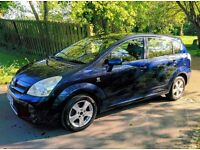 Toyota Corolla Verso 2.0D-4D, Diesel, T3, 5dr, 7 Seats, FSH, MOT, Dark Blue, Parking Sensors (2004)