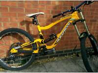 Nukeproof scalp downhill bicycle, 2012 frame