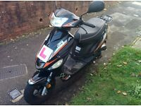 Scooter 49CC MOT until May 2018 + helmet only £400