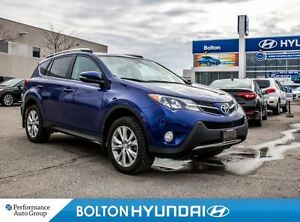2014 Toyota RAV4 Limited Tech|AWD|Navigation|Moon Roof|Leather