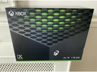 Xbox Series X Console- Brand New and Sealed