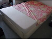 Queen Size Bed with Foam Mattress
