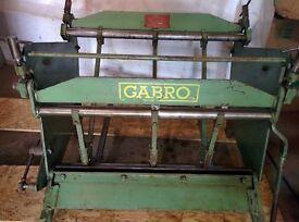 Gabro BF620 Box Folder. Ex School, GreatCondition, Complete.