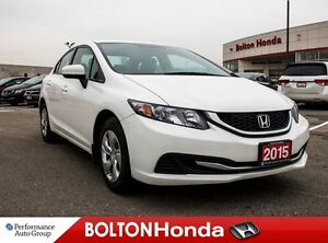 2015 Honda Civic LX|Heated Seats|Bluetooth|USB