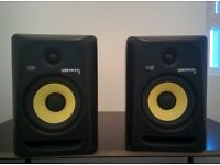 Pair of KRK Rokit 6 G3 studio monitors. Used but great condition.