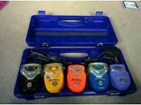 Danelectro mini pedals and case