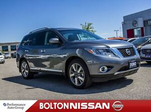 2016 Nissan Pathfinder Platinum|Panoroof|DVD|NAVI|Demo|Bluetooth