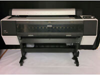 Epson 9890 Large format printer 44inch UltraChrome K3 Vivid Magenta with Stand