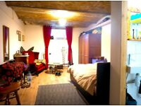3 Very Large Ensuite Bedrooms in Amazing Warehouse conversion Central Stoke Newington ALL bills Inc