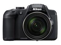 Nikon COOLPIX B700 20.3MP, 4K UHD Video, 60x Zoom Digital Camera - Black