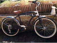 "American cruiser bike. 19"" frame 26"" tyres"