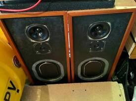 Kef Kit Vintage Speakers - T33, B110, B139