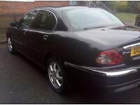 2005 Jaguar 2.0 Diesel x Type PRIVATE REG WITH CAR low miles