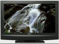 """40"""" SONY BRAVIA FLAT SCREEN LCD TV. LIKE NEW."""