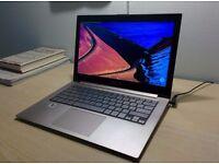 Asus UX31E 13.3 inch screen 2nd Gen Core i5 128GB SSD 4GB RAM Windows 10 ultra slim i5 Notebook