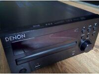 Denon RCD-M39DAB Micro CD FM System Black Near MINT condition (DM39 D-M39 DAB)