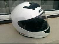 LS2 FF351 Single Mono Motorcycle Helmet As New inc helmet bag