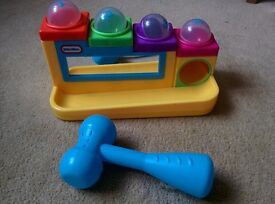 Little Tikes Hammer and Ball Player - good condition