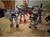 Gundam Wing Toys / Scale Models - Only £15 - COLLECTION ONLY