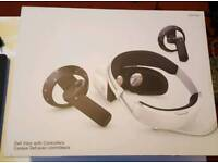 Dell mixed reality VR headset with controllers