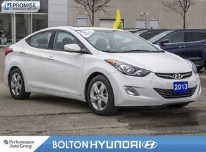 2013 Hyundai Elantra GLS|SunRoof|Bluetooth|HeatedSeats|Cruise