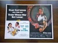 every which way but loose ' clint eastwood ' film poster