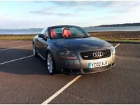 Audi TT mk1 225 Roadster Quattro 4WD 225hp 1.8L Turbo | Fully restored | Recaro Seats Aircon Cruise