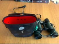 8x40 binoculars with case, carry cord