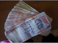 Selling my 500 and 1000 indian rupee notes