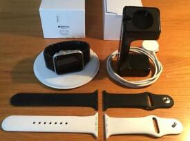 Apple Watch S2 +Genuine Link Bracelet Bundle 42mm