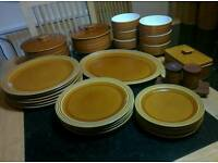 Hornsea Saffron Pottery - Dinner Set / Tea or coffee Set / Jars & many other items - Price varies.